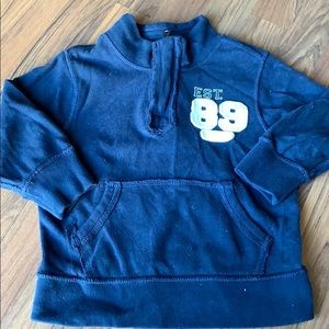 Children's place quarter zip sweater